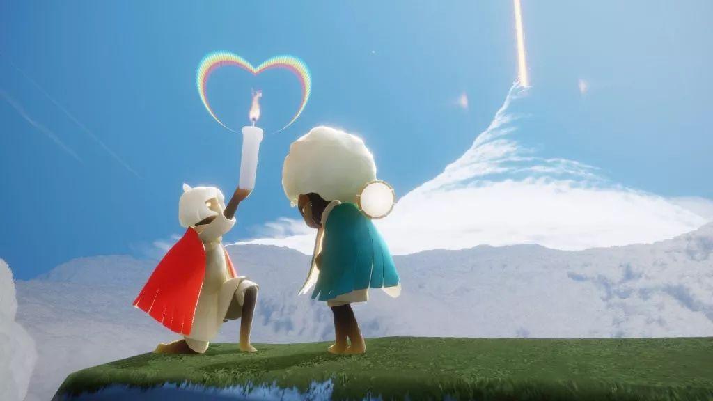 《光·遇》获苹果年度精选游戏,陈星汉的游戏美学变了吗?_玩家