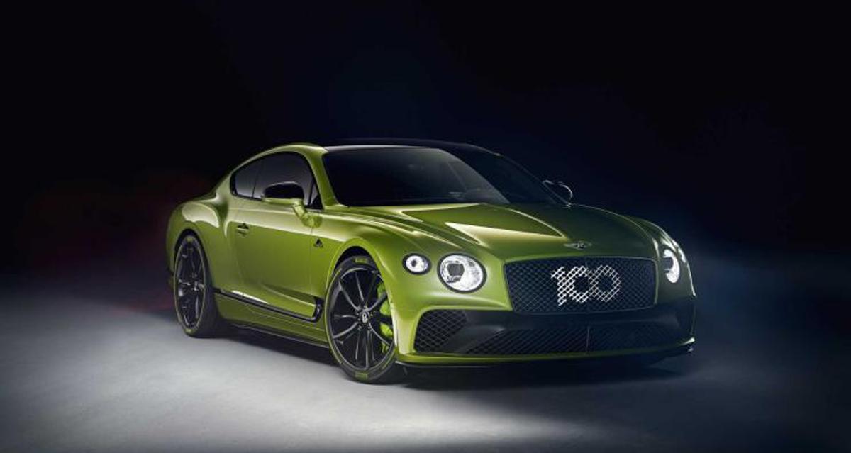 限量仅15台 宾利欧陆GT特别版官图曝光