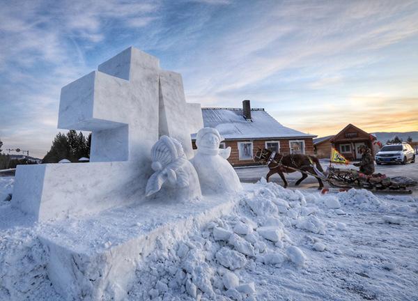 漠河北极村冰雪旅馆开业  -40℃的极寒住宿体验