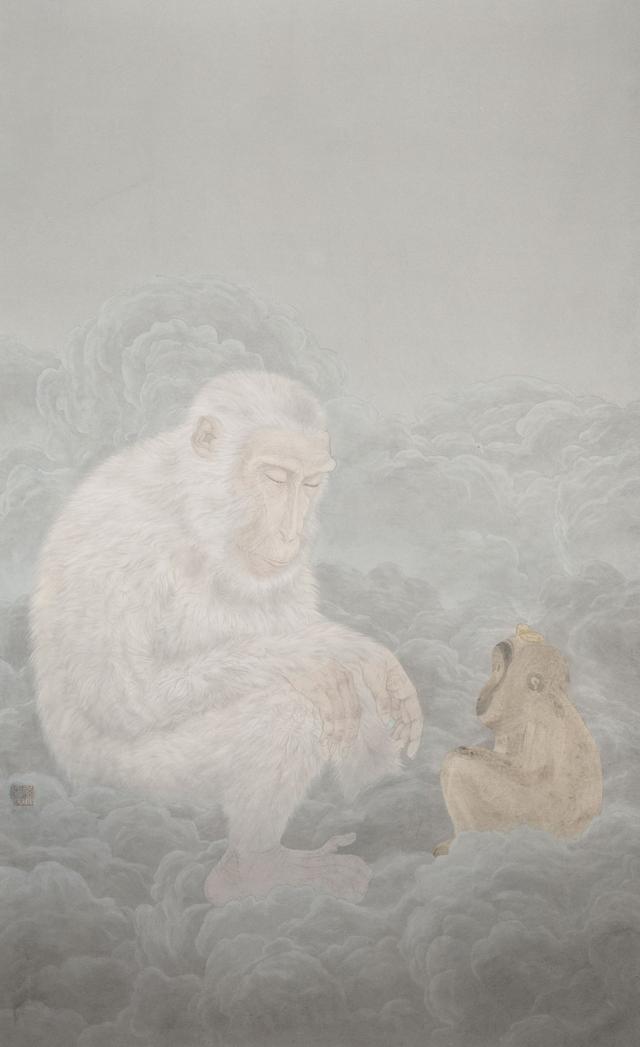 对岸 新工笔又十年 中国艺术研究院工笔画院提名展开幕
