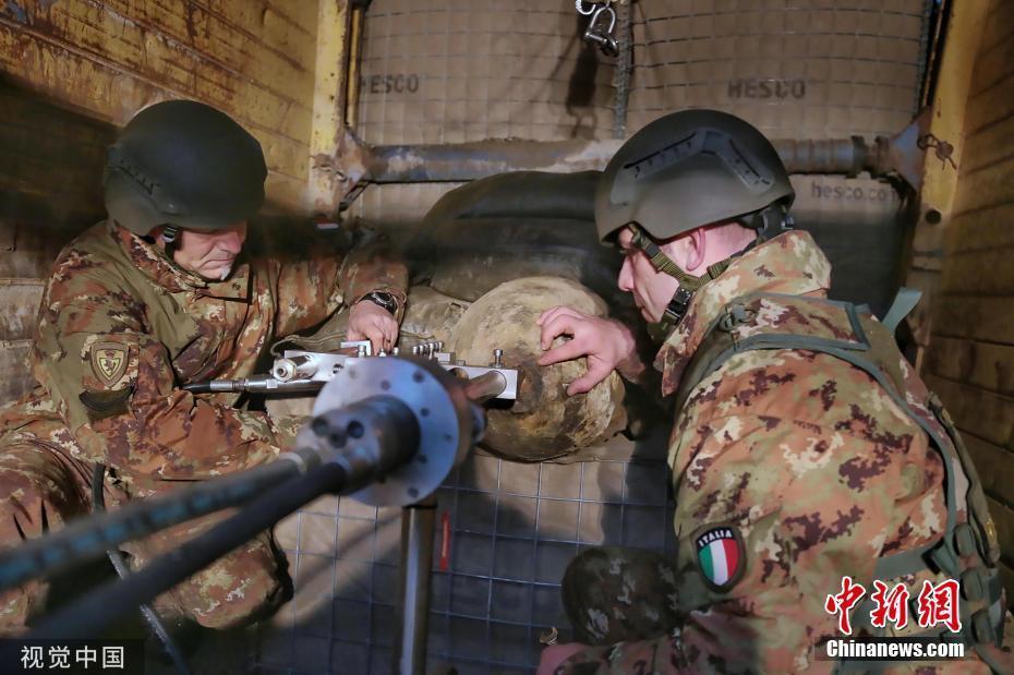 意大利发现二战时期炸弹 超1万人被撤离<_中欧新闻_欧洲中文网