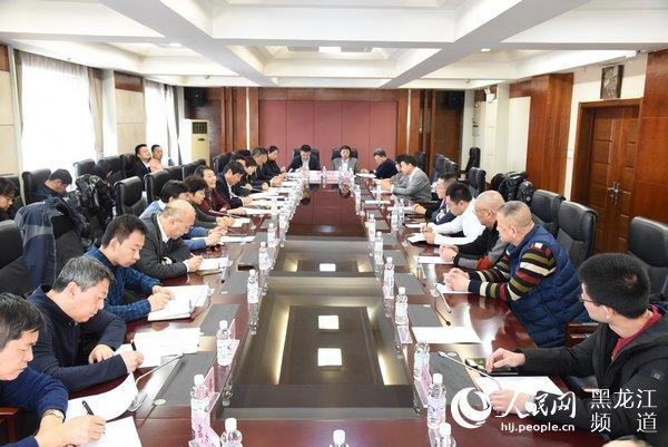 黑龙江省市场监管局召开民营企业座谈会破解民营企业经营难题