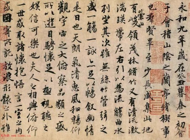 中国书法成了明争暗斗的名利场