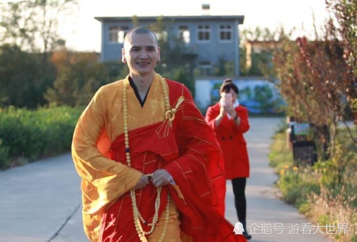 最帅的和尚_他天生佛相 被誉为 中国最帅的和尚 并且