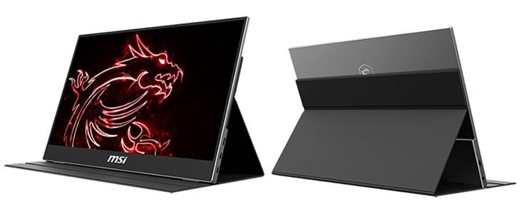 「IT之家」微星推出便携显示器:15.6英寸1080p,约180