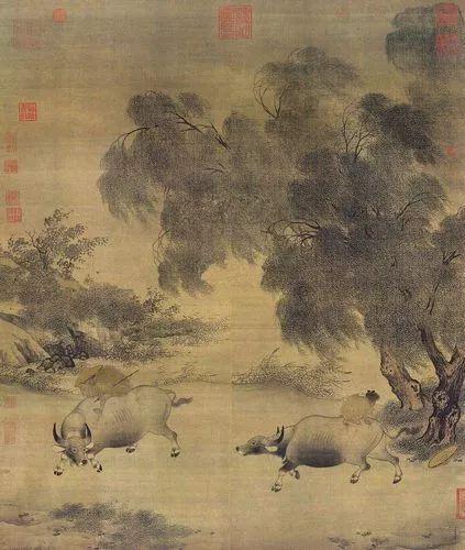 李迪,功力精湛的宋代画家