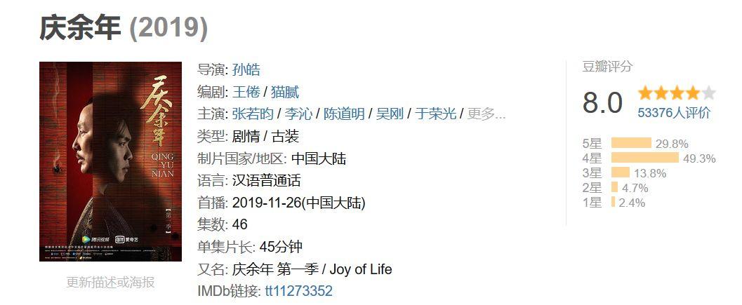 李沁和辛芷蕾合作4部剧,全部延迟播出,《庆余年》已属幸运_卫视