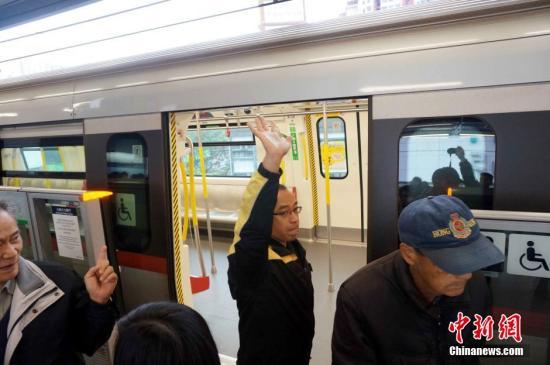 香港鐵路系統屢遭暴徒破壞 沙中線過海段延至2022年開通