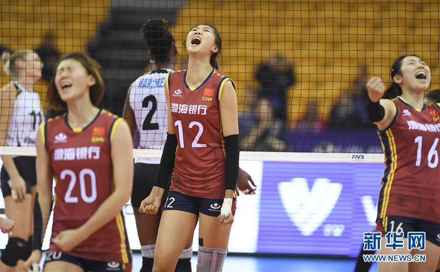 [環球網]女排世俱杯:天津渤海銀行隊勝巴西海灘隊