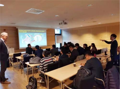 北京维乐口腔周铭、贾四庆受邀远赴瑞典哥德堡大学探访交流