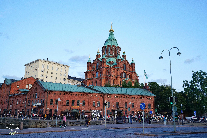 <b>北欧最大的东正教堂,浓浓的俄罗斯建筑风格,探秘神秘的东正教</b>