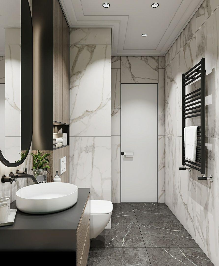 卫生间的10个设计原则,让小卫生间装出豪宅的大气感!