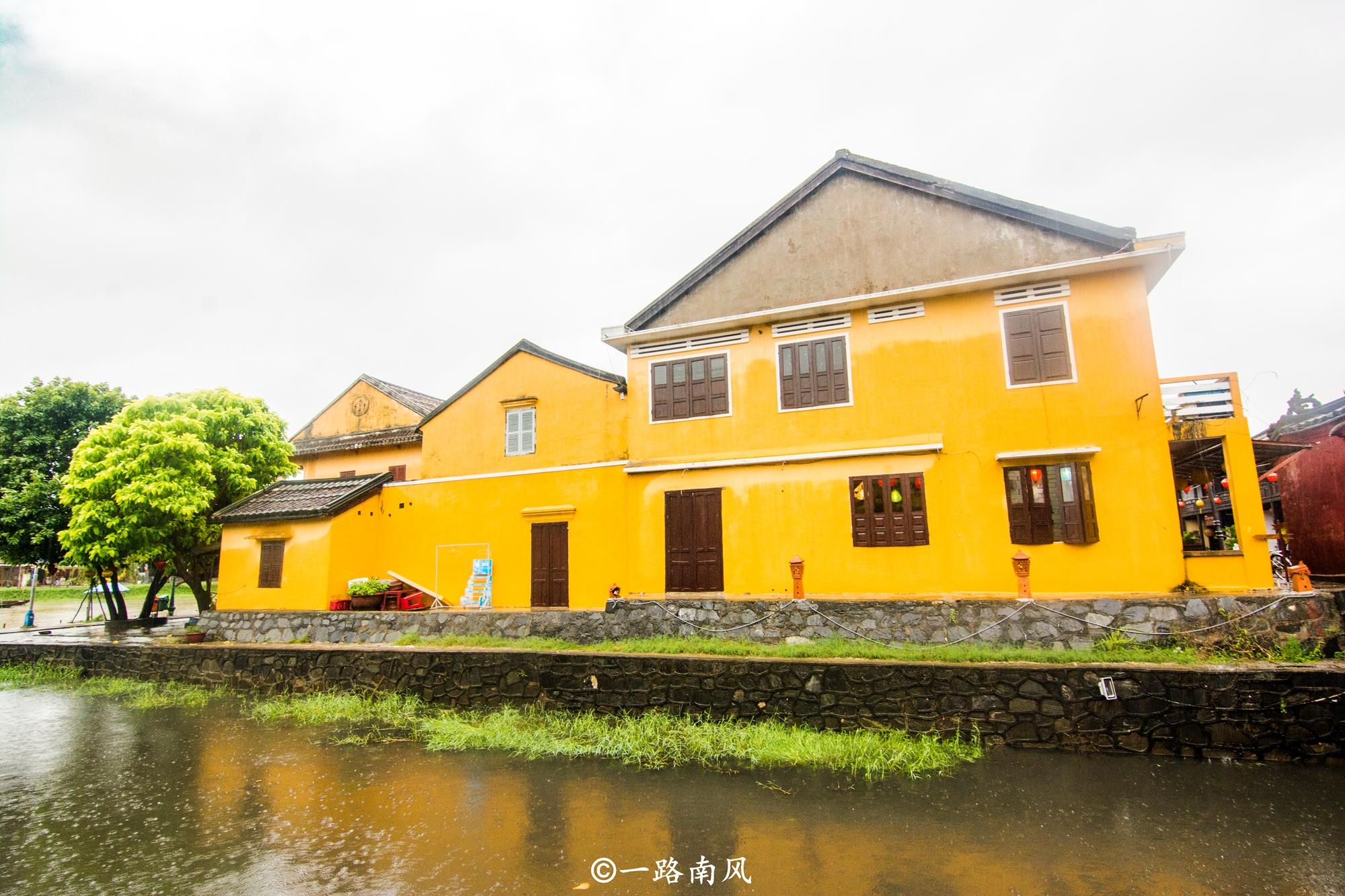 """越南最特别的古城,到处""""法国""""建筑,一些老房子上还有汉字!_旅游"""