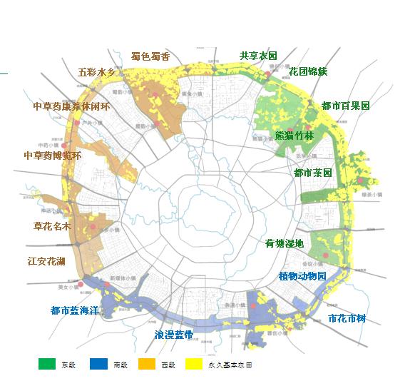 成都锦城公园拿出20块农田招商:绿道不仅能跑步,还能种地!