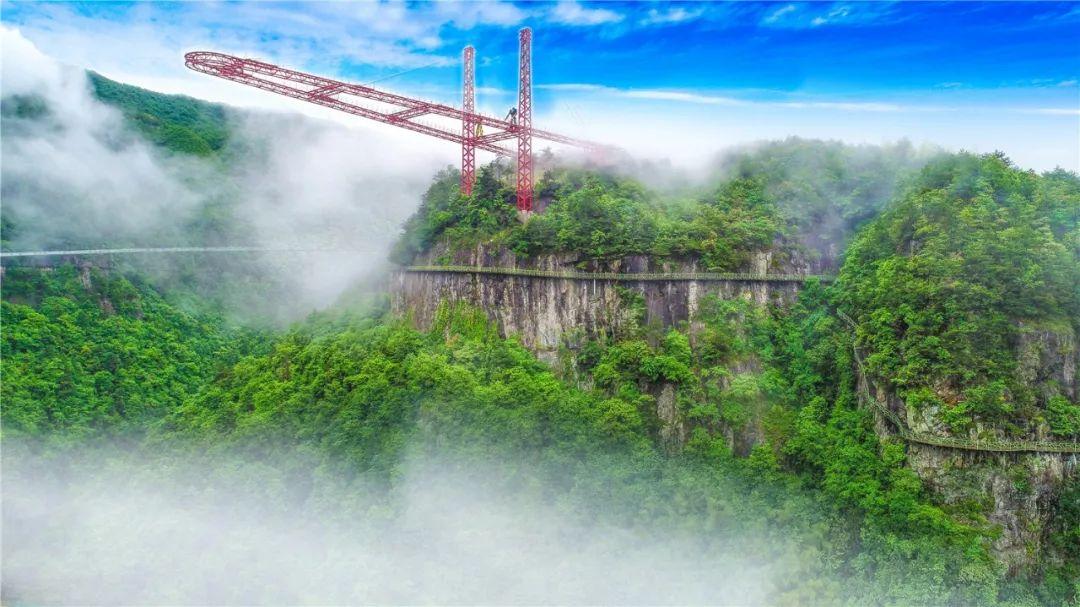 【磐安】挑战世界第一高空悬廊,想体验腿抖,迈不出去地方,这里就够了!