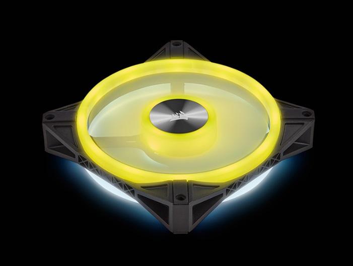 海盜船新款RGB風扇上架:雙面RGB燈效,液壓軸承