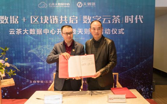 云茶大数据中心与天则链平台启动,正式开启『数字云茶』时代_云南省