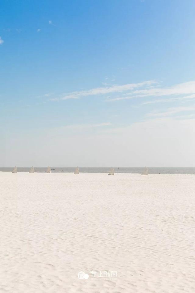 <b>珠海最新开放的宝藏海滩,人少、又近、还免费!</b>