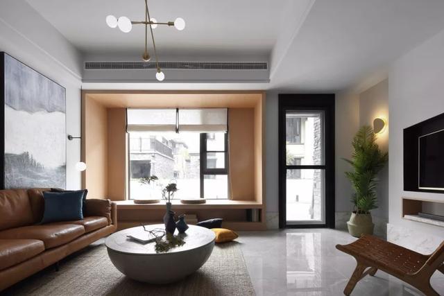 <b>209㎡现代简约,高冷色调的空间,轻奢自然的质感</b>