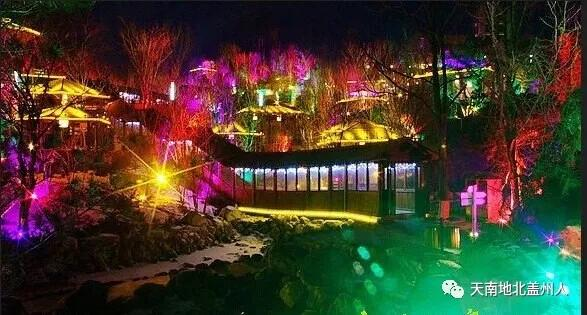 遇见盖州 虹溪谷温泉,每一个季节都会有繁忙的花事……