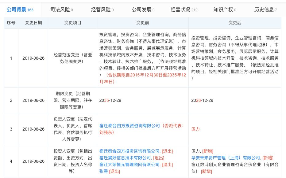 卸任京东物流总经理!刘强东退出一线?年内至少卸任五家公司职务