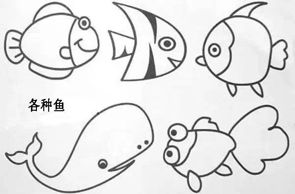 简单易学的简笔画,快拿去教孩子