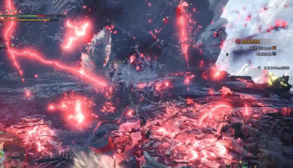 怪物猎人世界冰原狱狼龙pc图片