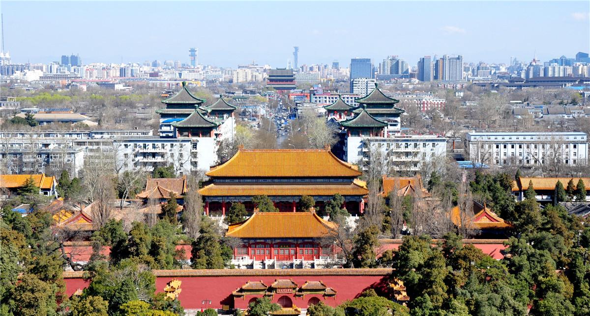 鏡頭下的京城中軸線:鐘鼓樓_鐘樓