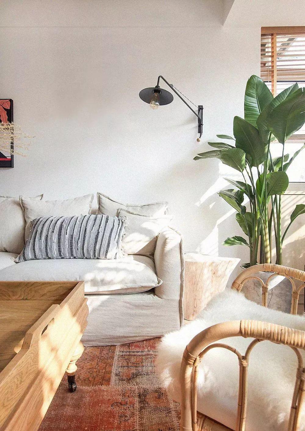 75㎡?北欧复古两居室,家就是要有温暖的生活感!