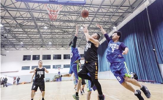 """2019年福全街道""""產業新城杯""""籃球友誼賽舉行_交流"""