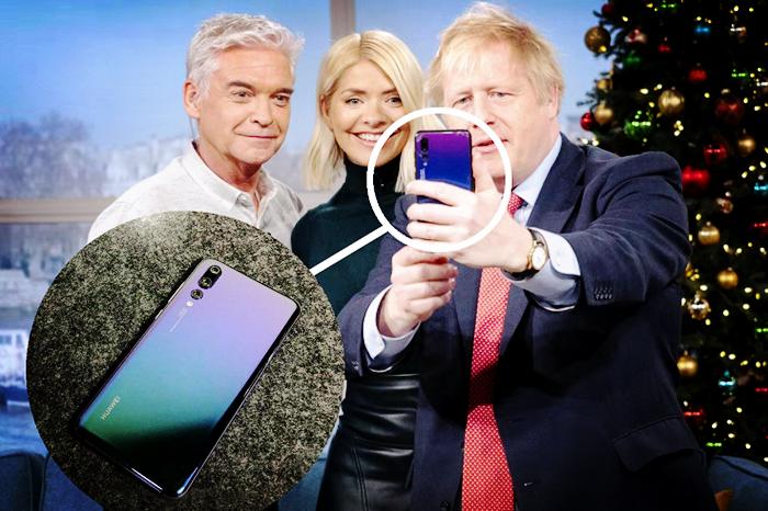 英国首相使用华为手机自拍!西方媒体百般解读,搞不清是什么意思