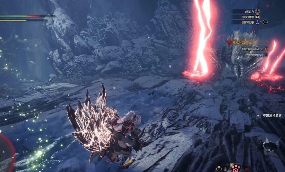 怪物猎人世界冰原狱狼龙任务怎么接图片