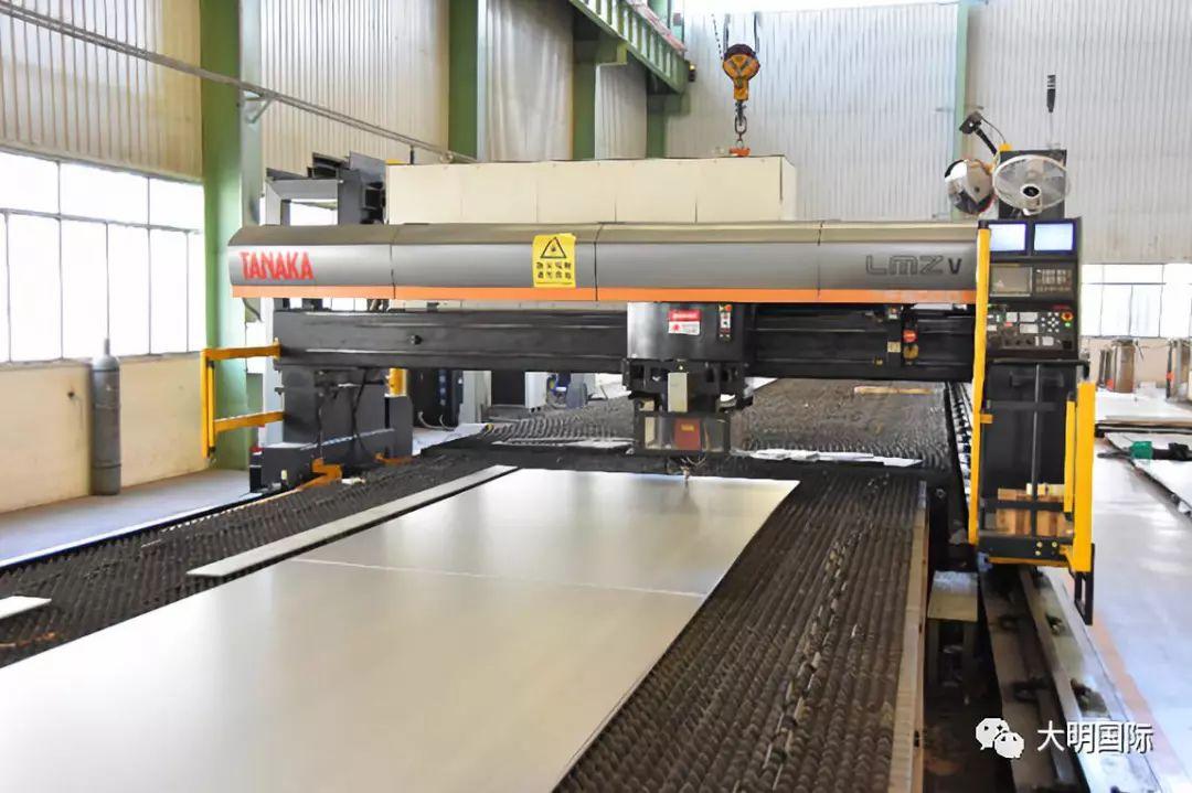 <b>大明太原加工中心11月份不锈钢品种钢销量创新高</b>