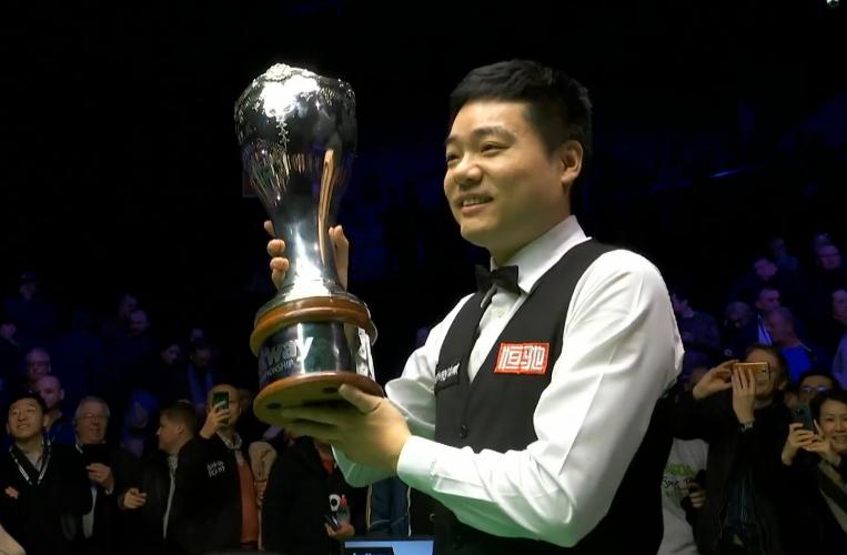 丁俊晖斩获英锦赛第三冠 破冠军荒成80后第一人