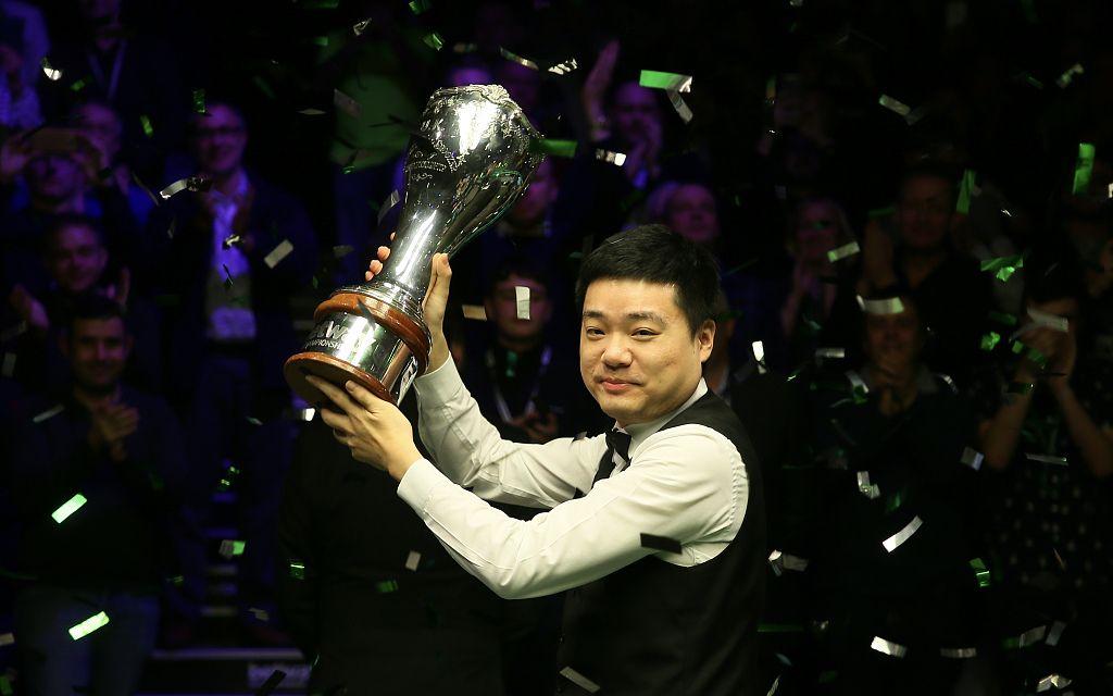 丁俊晖世界排名重返前十,目标仍是世锦赛冠军