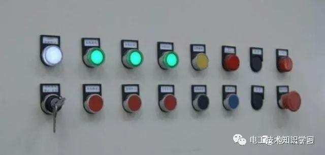 三相电度表接线如下: 电源指示灯一般有黄色,绿色,红色,白色四种.