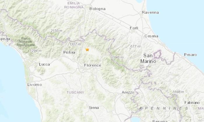 意大利佛罗伦萨地区4.8级地震 致全国铁路受影响_意大利新闻_意大利中文网