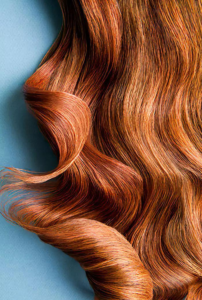 杨幂黑藻一般的秀发,媚到你心里了吗?