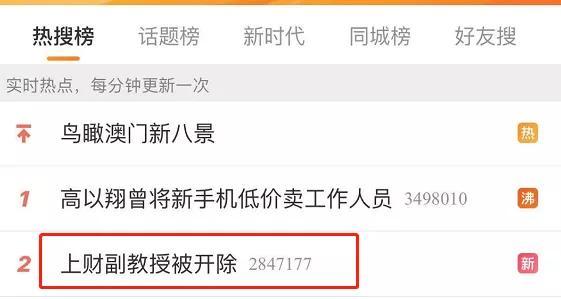 """刚刚,""""色狼""""副教授彻底栽了,被上海财经大学开除!"""