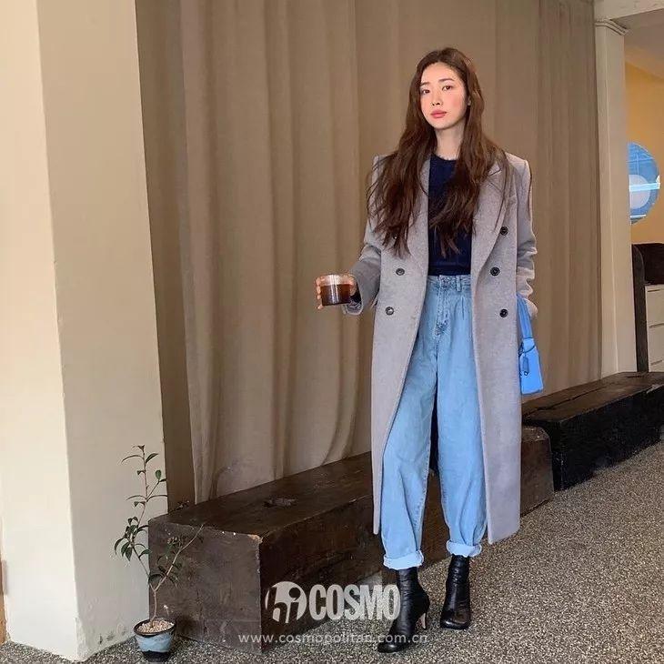 赵丽颖杨幂带着曾黎变少女,多亏了灰蓝配!