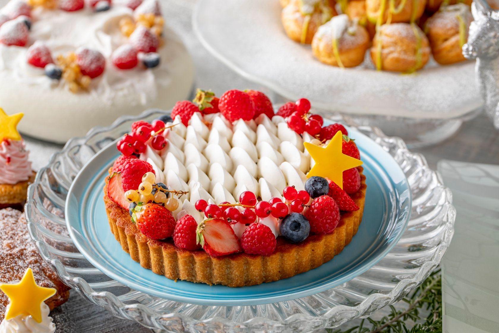 圣诞季甜品系列搭配