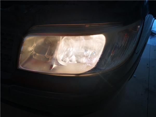 太原现代美佳大灯改装LED双镜头改装大灯