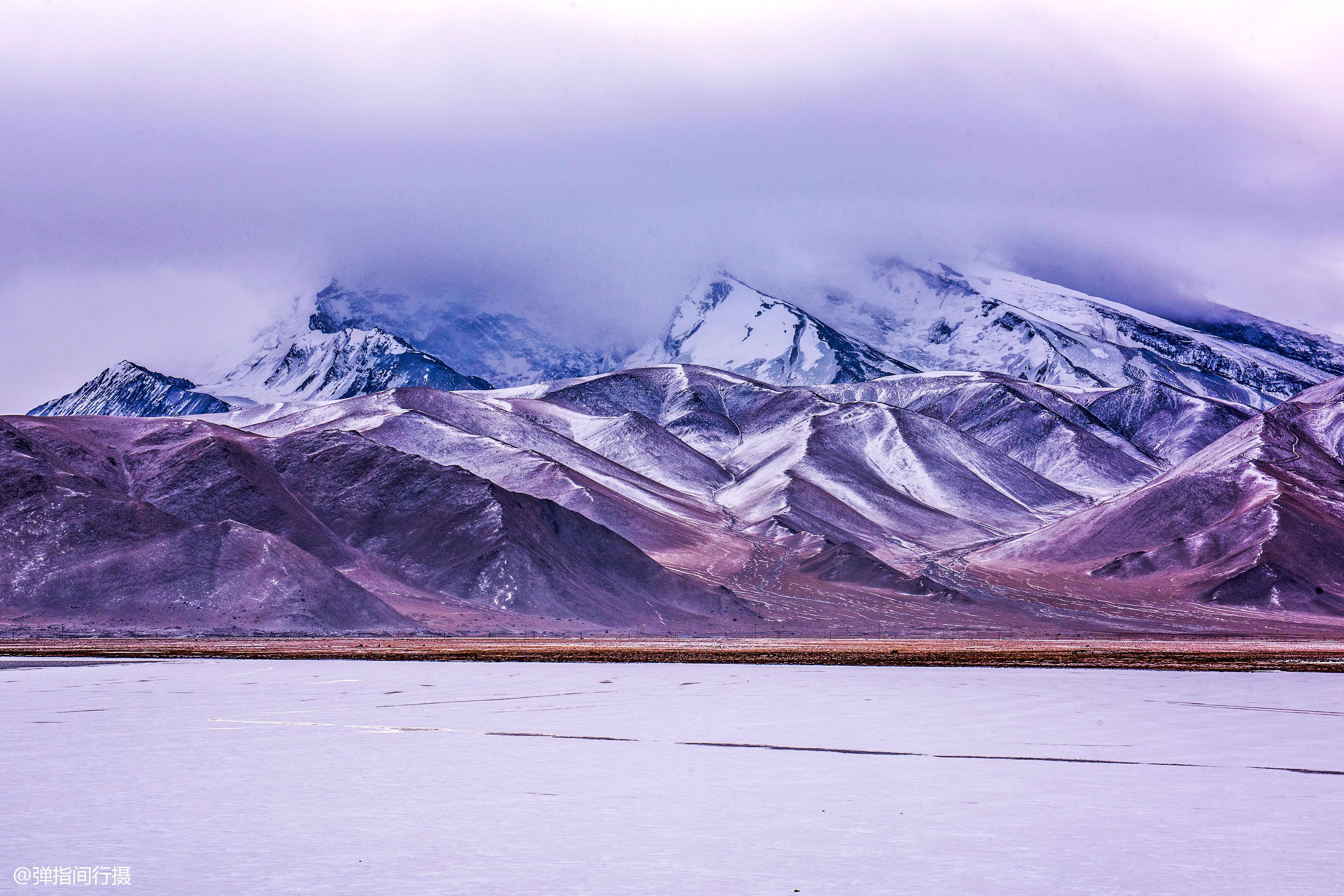 """帕米尔高原有个""""变色湖"""",湖水会变换不同色彩,成因众说纷纭!"""