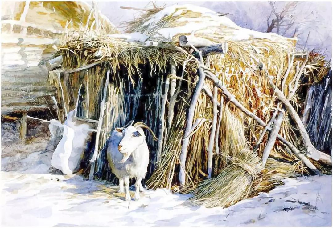 村庄冬夜的黑和静,曾经带给我们刻骨铭心的体验