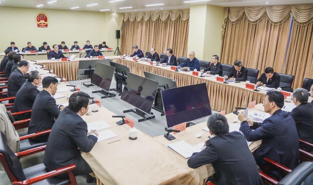 蔡奇周强到北京互联网法院调研