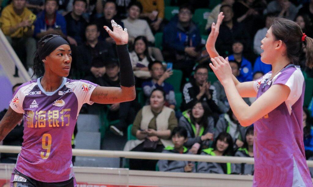 朱婷休战天津3-1进4强 张常宁20分难阻江苏遭逆转