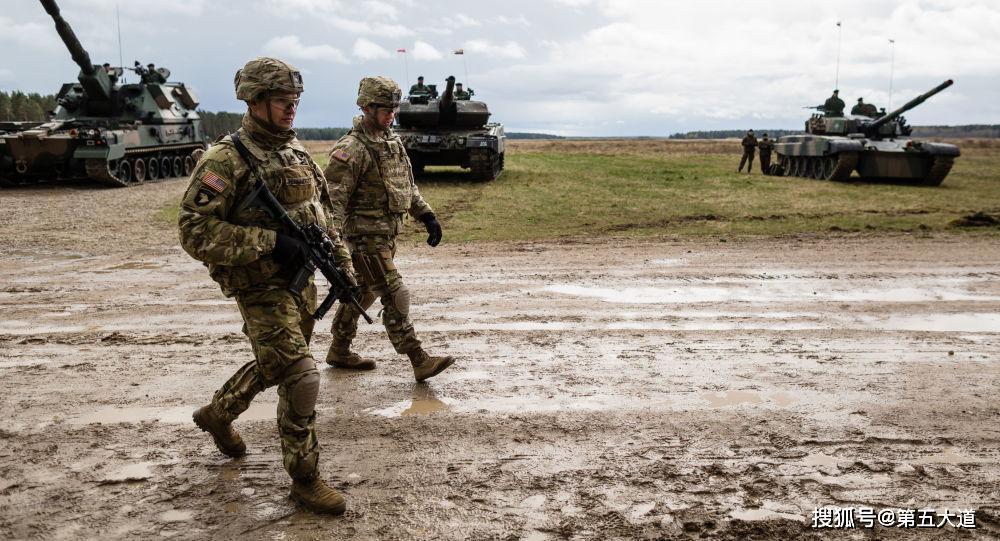 美軍不再隱藏,數萬精兵調轉槍口撲向俄羅斯!25年來最大規模行動_同盟國