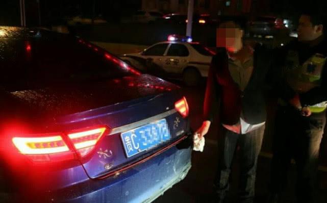 无证男子醉驾想逃跑,连伤民警后遭刑拘