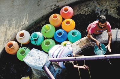 凌乱不堪全球化解水资源危机刻不容缓