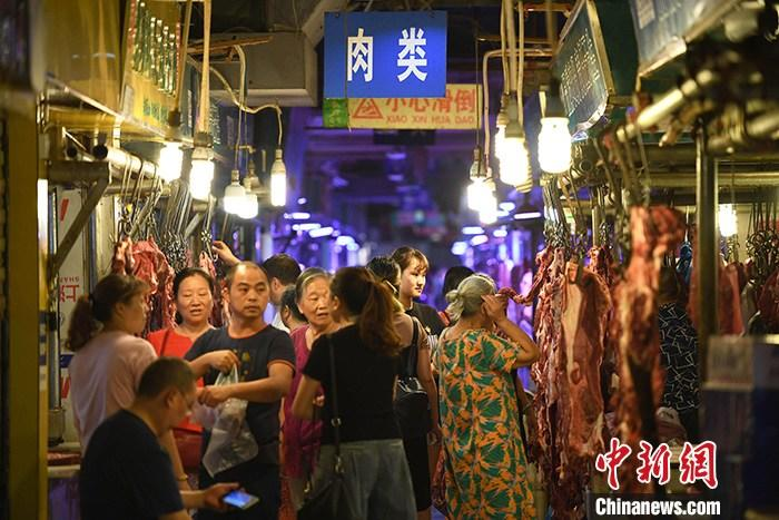 11月份中国CPI同比上涨4.5%
